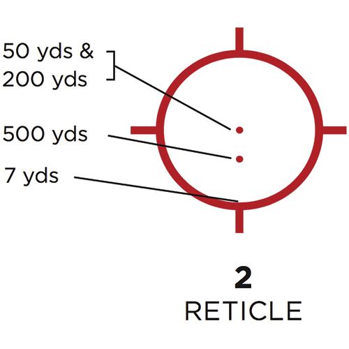 2 Reticle
